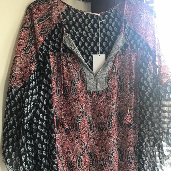 33ec79015980b Ulla Johnson bohemian silk blouse
